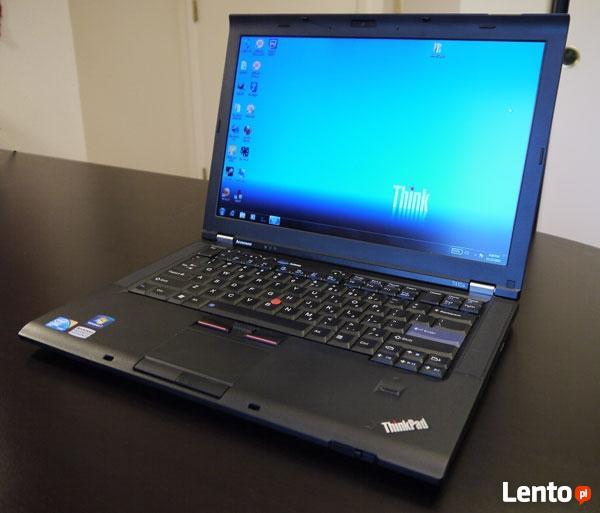 Lenovo ThinkPad T410 i5-520M Dysk SSD 4 GB RAM + stacja doku