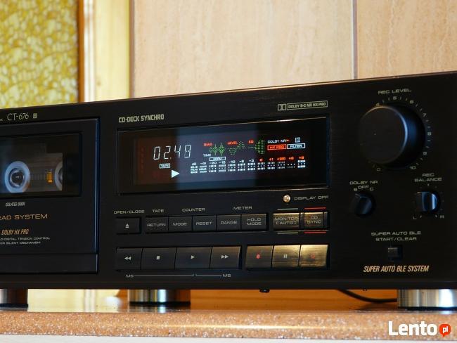 Pioneer Ct-676 Rewelacyjny Magnetofon! Extra Sprzęcik.