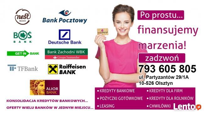 pożyczki na dowolny wydatek!