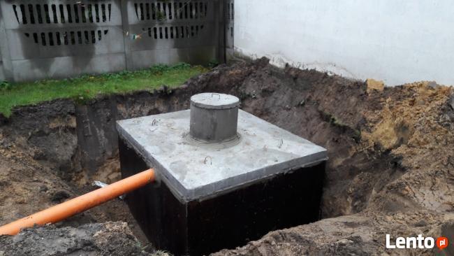 Szambo betonowe 6m3 i inne pojemności TRANSPORT I MONTAŻ