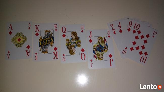 "Karty do gry kolekcja nr 1 ""Senior"" - 52 szt."