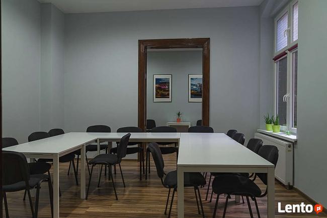 Gabinety, sale szkoleniowe, warsztaty - wynajem