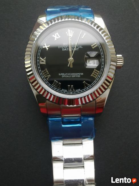 Zegarek męski z logo ROLEX