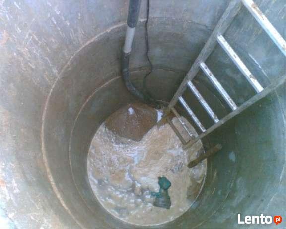 Odmulanie, regeneracja, pogłębianie studni