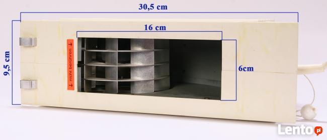 Wentylator ścienny, wyciągowy 25W