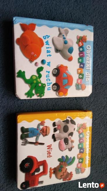obrazki dla maluchów książki