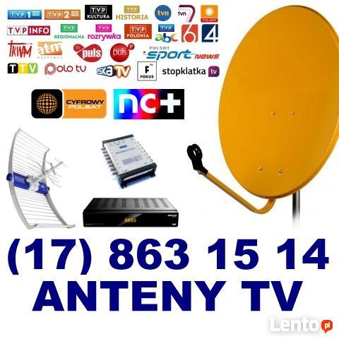 Ogromny Anteny Rzeszów. Sklep, montaż i serwis SAT/DVB-T Rzeszów DH12