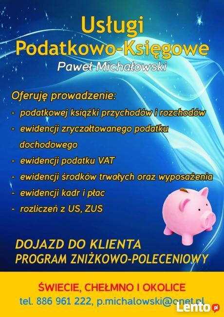 Biuro Rachunkowe/Usługi Podatkowo-Księgowe Paweł Michałowski