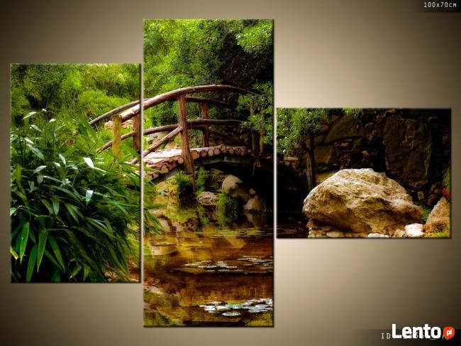 Japoński Ogród, OBRAZY, płótno Canvas, pomysł na prezent
