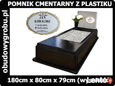 pomnik z plastiku, pomnik cmentarny z tworzywa sztucznego