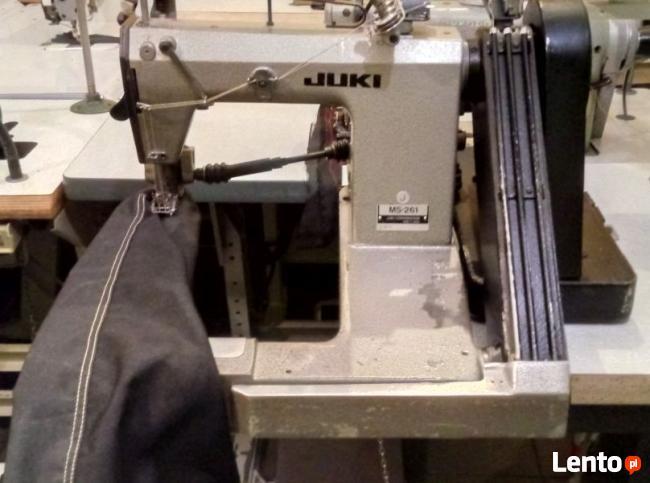 Maszyna do szycia RAMIENIÓWKA JUKI MS 261 PULER
