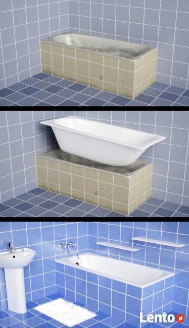 Nowa wanna bez remontu w łazience / Renowacja wanny