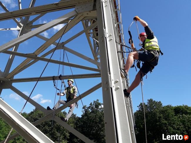 alpinizm przemysłowy - usługi , szkolenia