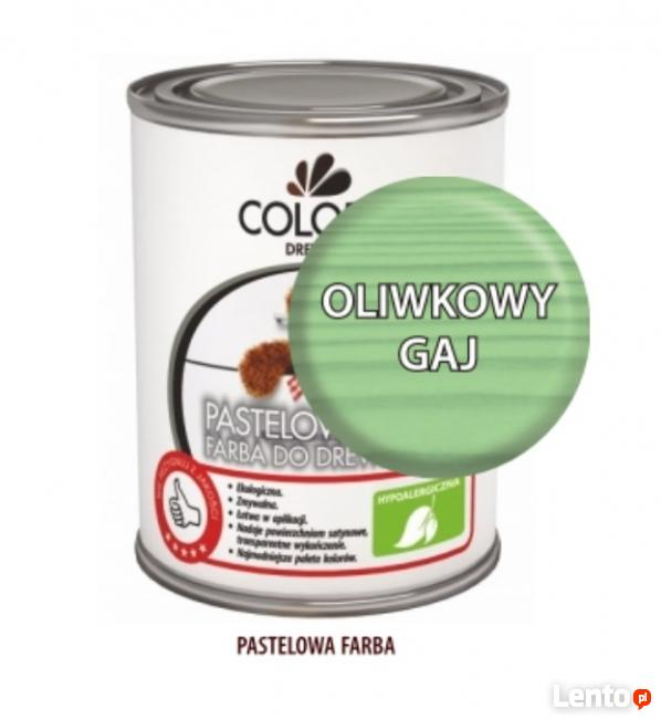Pastelowa Farba Do Drewna Colorit 375ml 750ml OLIWKOWY GAJ