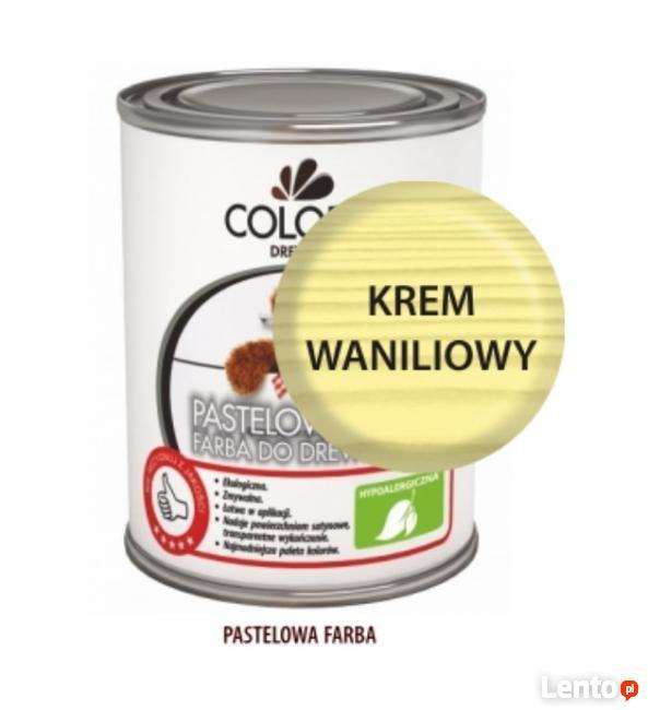 Pastelowa Farba Do Drewna Colorit 375ml ROMANTYCZNY RÓŻ