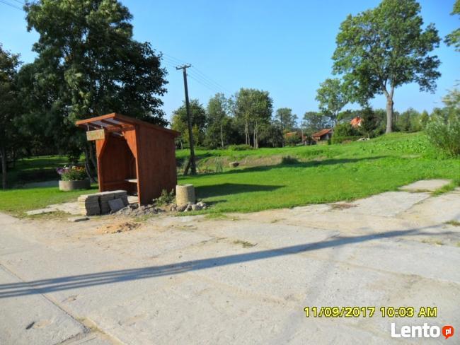 Sprzedam działkę  0,3ha, oraz 0,6 ha ,7 km. od Bartoszyc