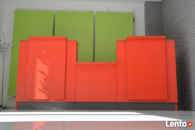 Reprezentacyjna lada recepcyjna R52 na wymiar różne kolory