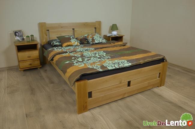 Łóżko sosnowe do sypialni Nela, Kolory, Rozmiary, Wysyłka