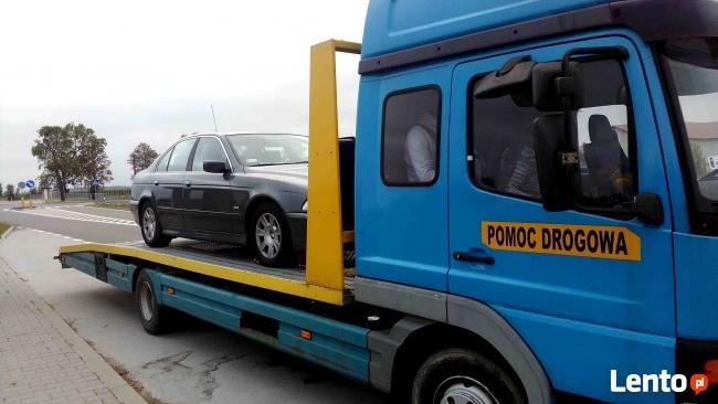 POMOC DROGOWA 24h Laweta Holowanie Przewóz aut Siedlce Kotuń