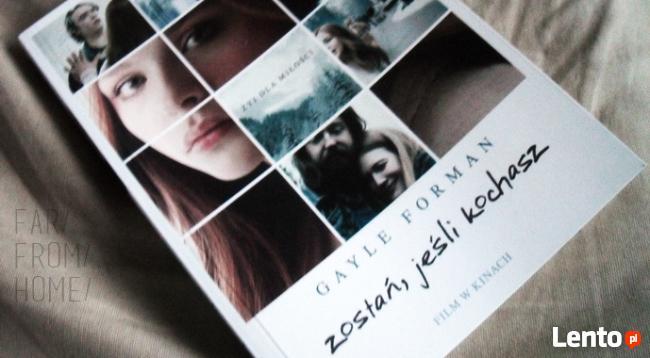 Książka Zostań, jeśli kochasz
