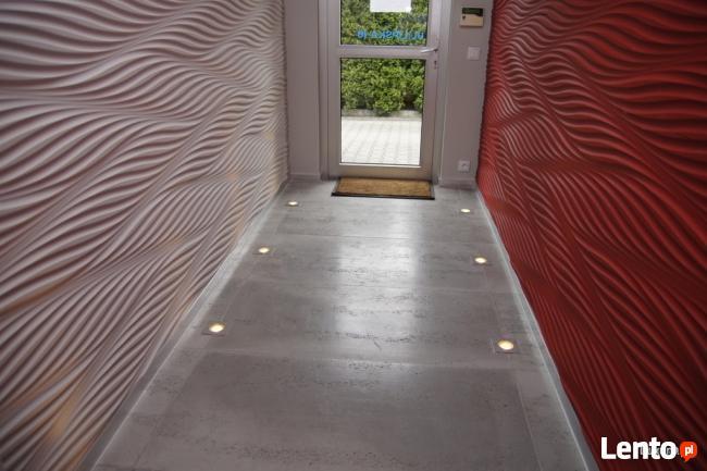 Panele 3D Panele ścienne MDF 3D Panele frezowane Luxum