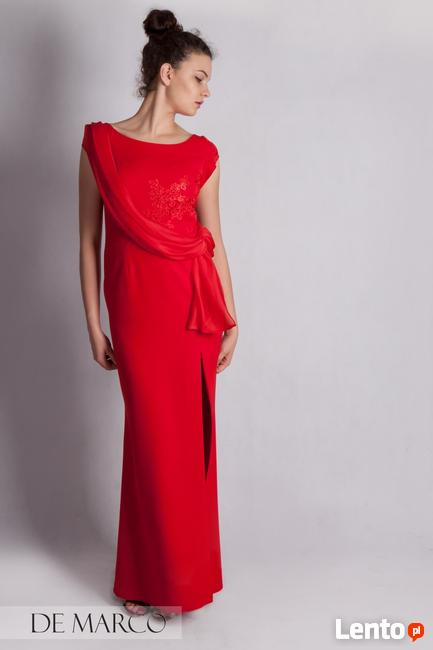 a9aa3c4acdc2e Długa suknia na wesele, bal, studniówkę, szyta na miarę w De Wadowice
