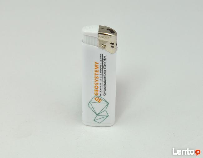 zapalniczka reklamowa z pełnokolorowym nadrukiem UV