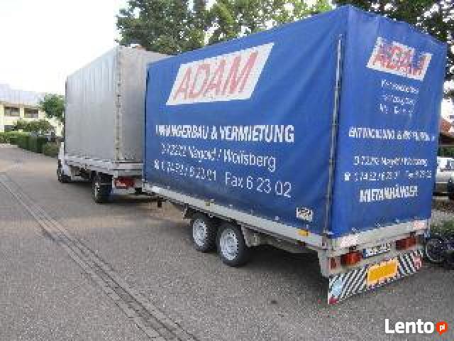 Transport Holandia,Francja,Niemcy przeprowadzki