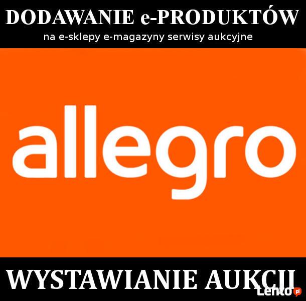 Szybkie masowe wystawianie aukcji na Allegro eBay Baselinker