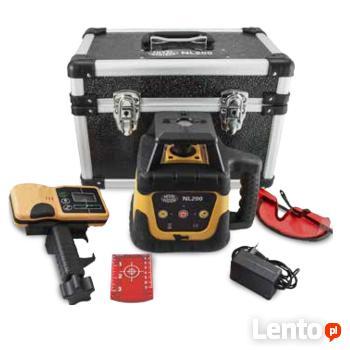 Niwelator rotacyjny laserowy obrotowy laser nl200 ZESTAW