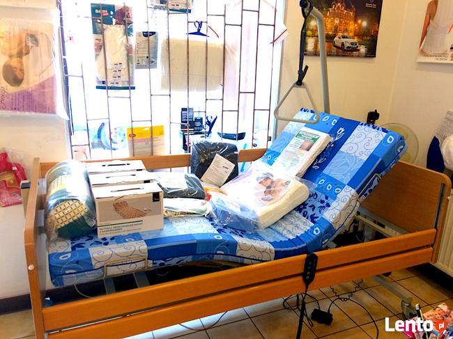 łóżko Rehabilitacyjne Elektryczne Ortopedyczne Na Pilota