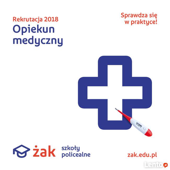 Opiekun Medyczny- kwalifikacje w ROK w Żaku!