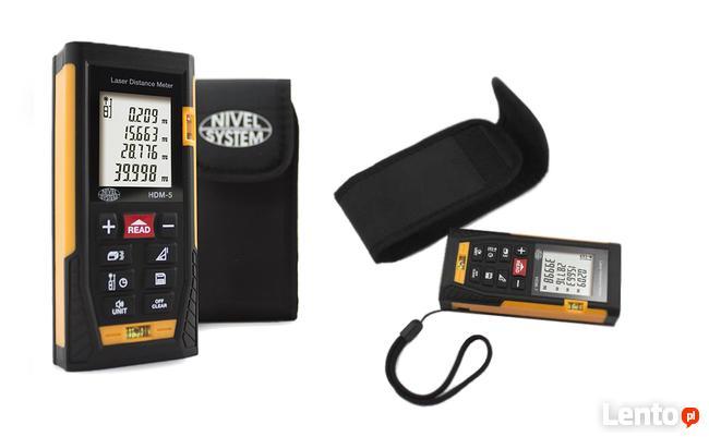 Dalmierz ręczny laserowy Nivel System HDM-5 (POMIAR DO 50m)