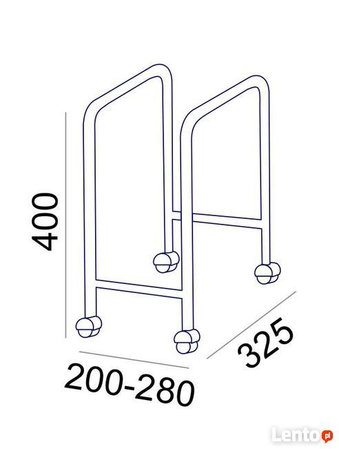 Sove wózek pod komputer regulowana szerokość