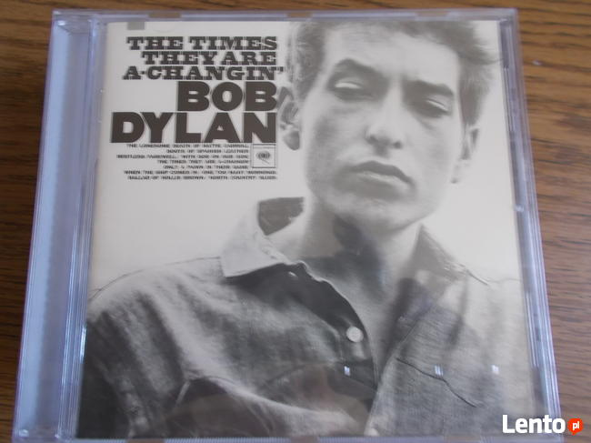 Sprzedam Album CD Bob Dylan The Times They Are A- Chngin