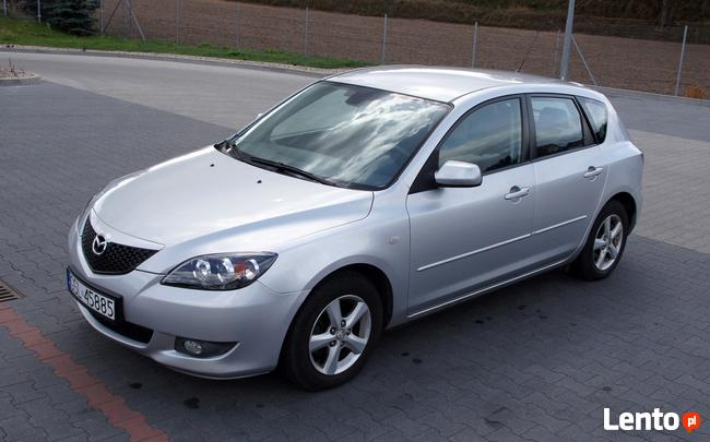 Mazda 3 _ Bardzo Zadbana _ Klima _ 90KM _ 2007