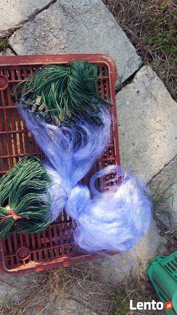 sieci rybackie typu; wonton, drygawica, słęp, zak
