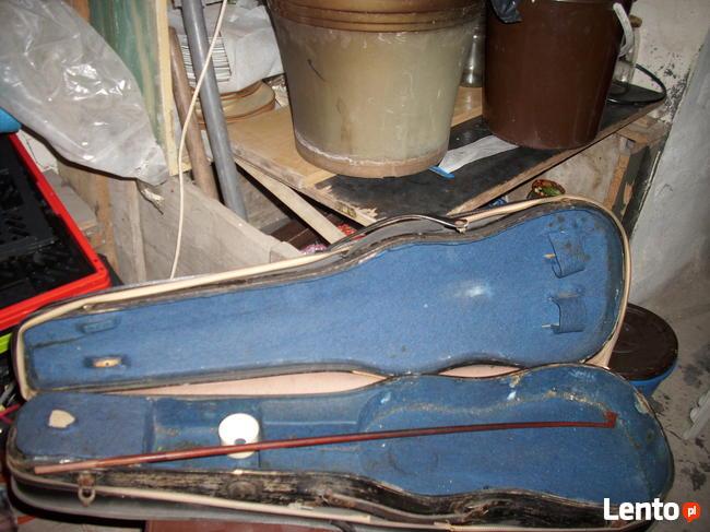Drewniany futerał na skrzypce sprzedam.