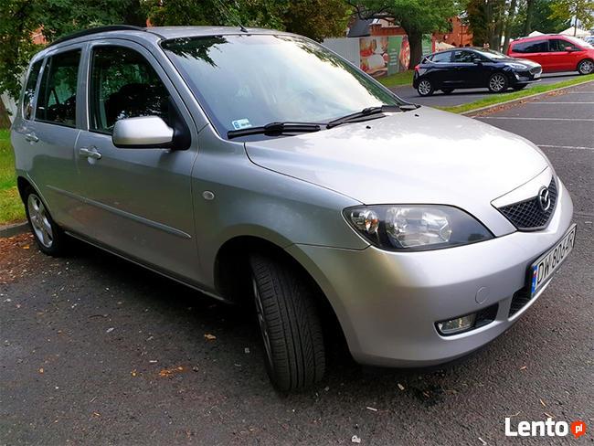 Mazda 2, 1.6 EXCLUSIVE 100KM, 2003 r.