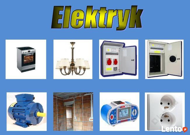Elektryk awarie , remonty, pomiary montaż AGD.