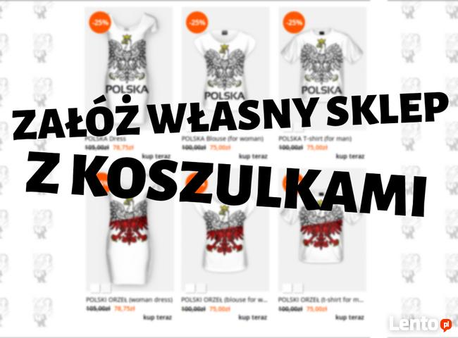 Projektuj wzory na koszulki