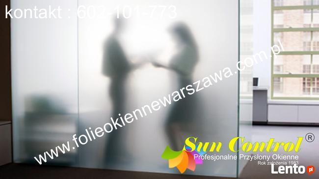 Folie okienne matowe montaż Warszawa 602-101-773