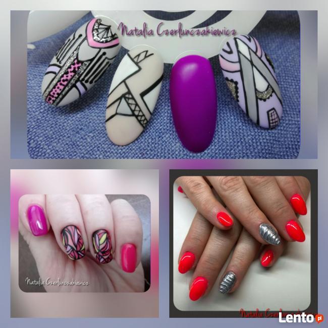 Manicure hybrydowy Manicure żelowy