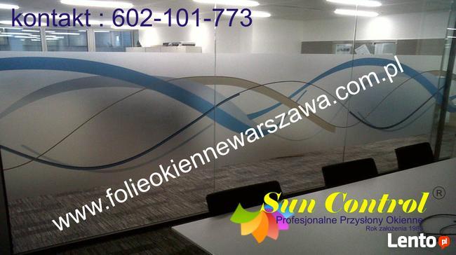 Folie Okienne Dekoracyjne Montaż Warszawa 602 101 773 Warszawa