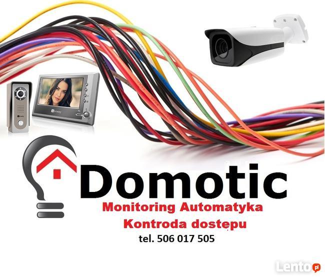 Elektryk, Monitoring, Wideodomofony, Automatyka
