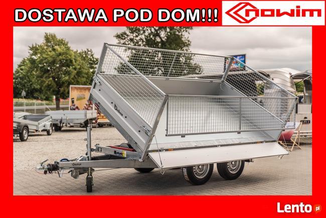 Debon Przyczepa Kiper budowlana rolnicza wywrotka PW 3.0