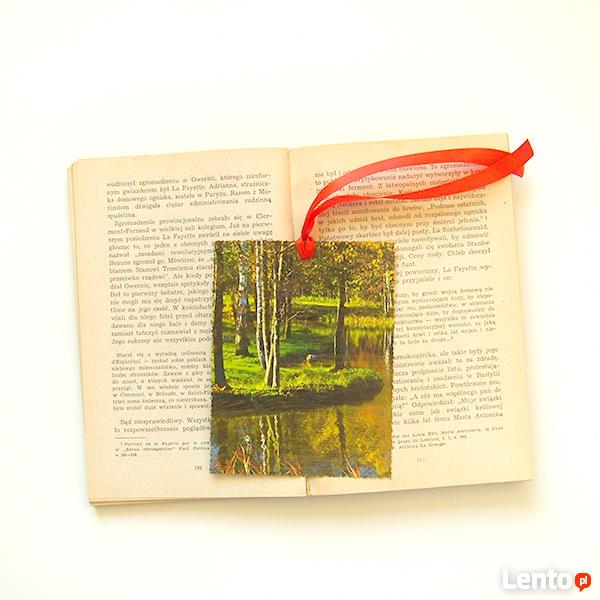 jesień zakladka do książki