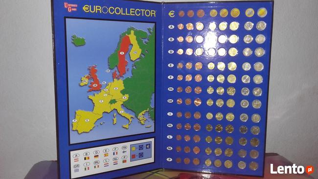 Sprzedam klaser numizmatyczny z monetami euro