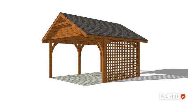 Wizualizacje 3D konstrukcji, domki, altany, projekty, sketch