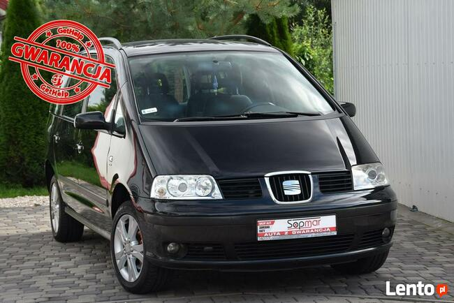 Seat Alhambra 1.9TDi 115KM Automat 2008r. Xenon climatronic TEMPOMAT